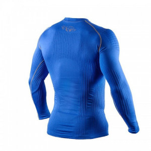 Компрессионная футболка с длинным рукавом Peresvit 3D Performance Rush Compression T-Shirt (PRush-ls-Royal) Royal р. S/M